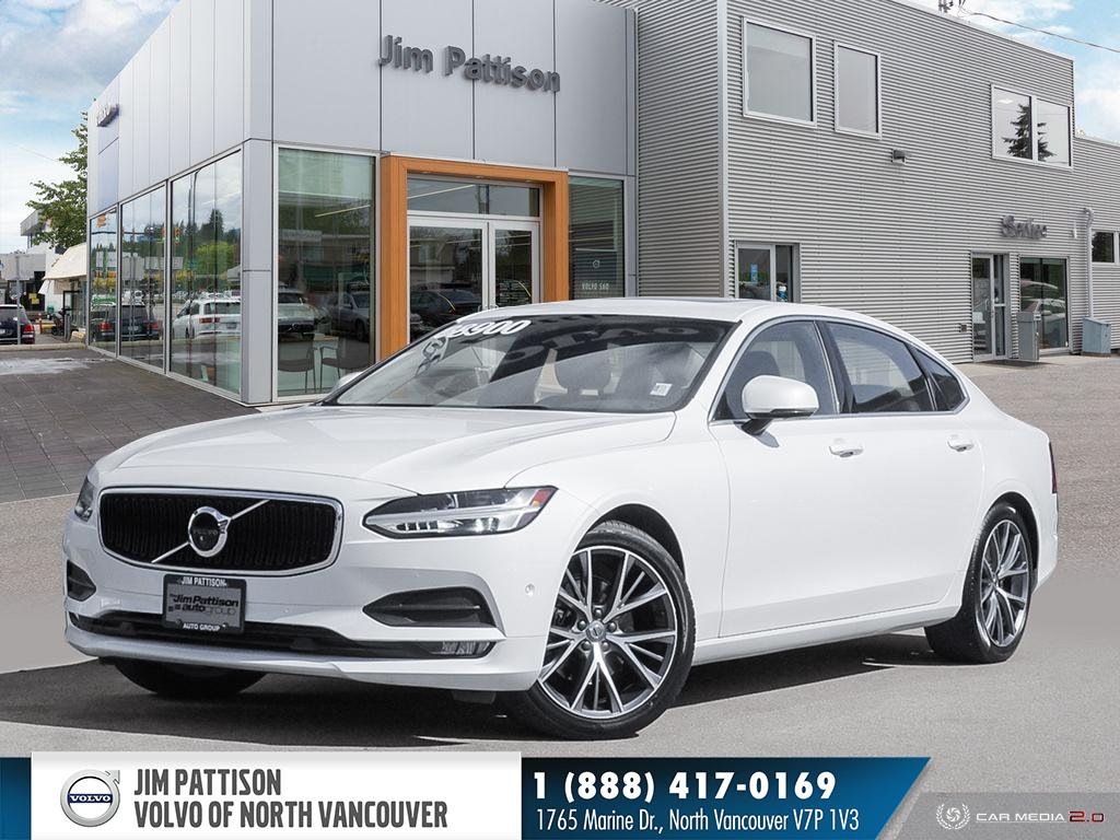 Pre-Owned 2018 Volvo S90 T5 MOMENTUM - CERTIFIED - 360 CAMERA - ADAPTIVE CR