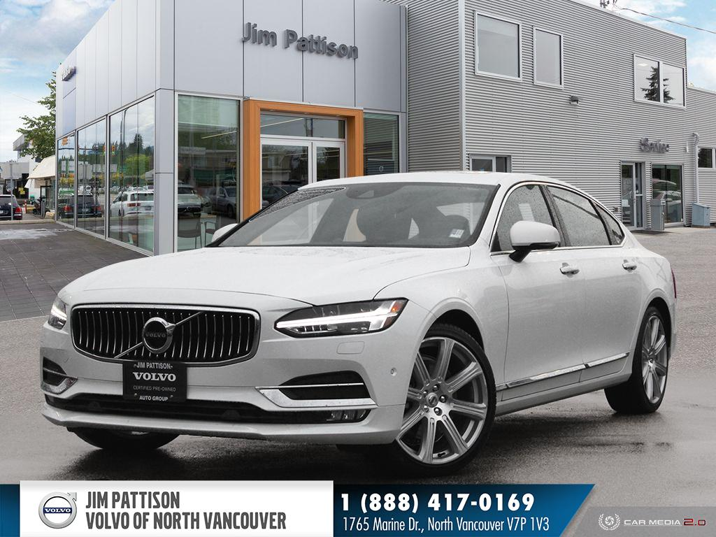 Certified Pre-Owned 2018 Volvo S90 T6 AWD Inscription - No accidents- Certified- Loca