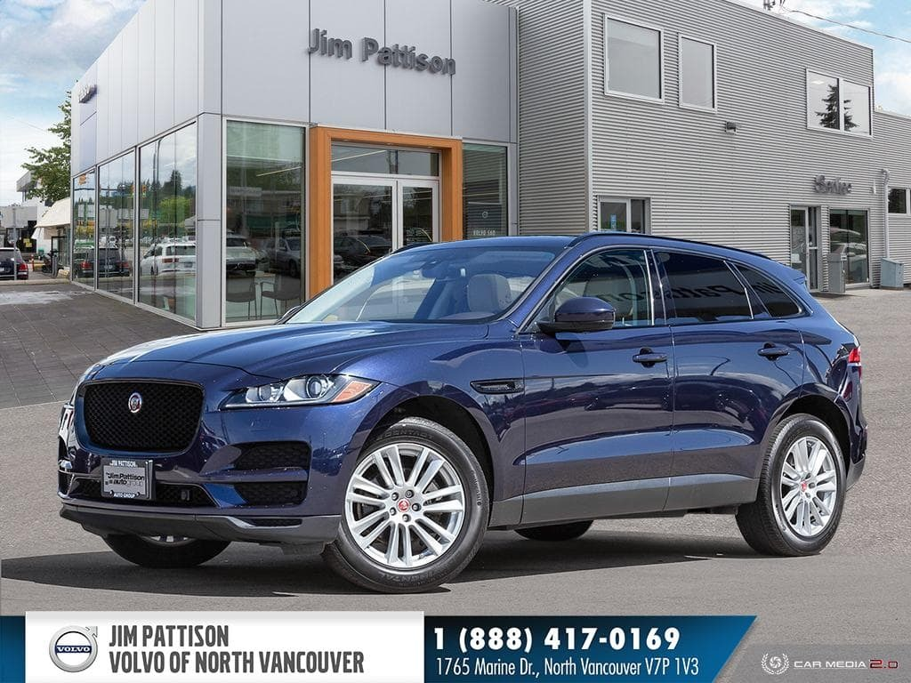 Pre-Owned 2017 Jaguar F-Pace 20d Prestige / Tech,Conv,Comfort,Black Pack
