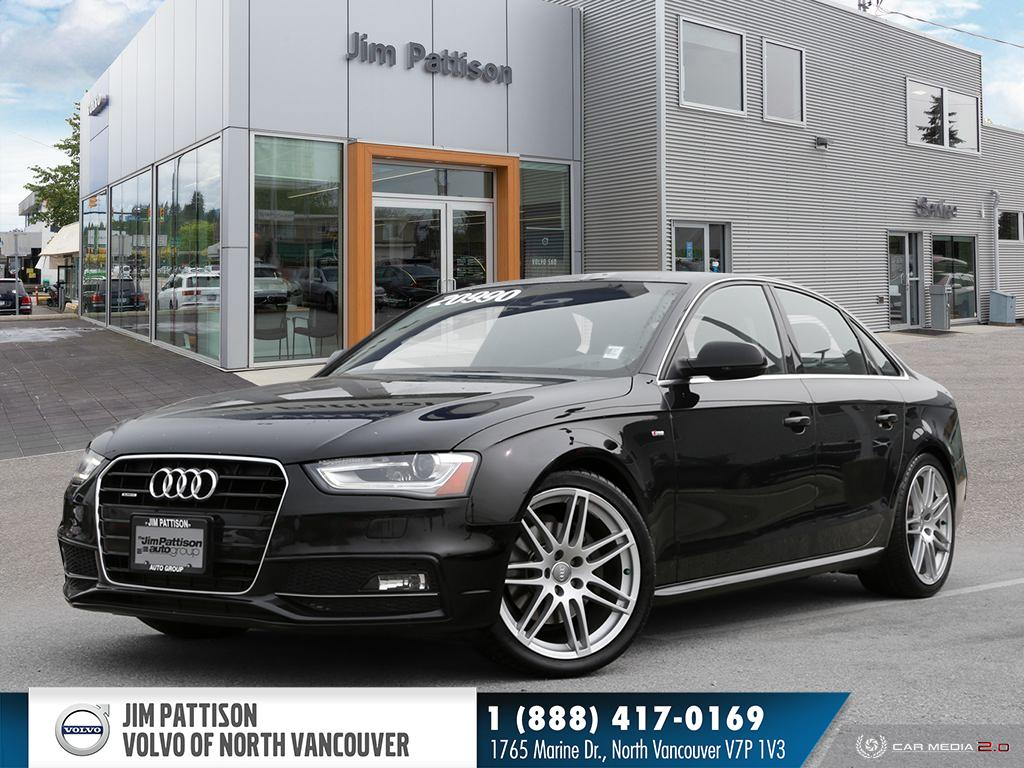 Pre-Owned 2013 Audi A4 2.0T Premium Plus - LOCAL - LOW KM'S