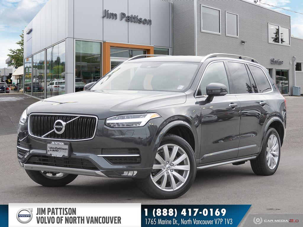 Pre-Owned 2019 Volvo XC90 T5 AWD - EXECUTIVE DEMO - HUGE SAVINGS - 2.9% OAC