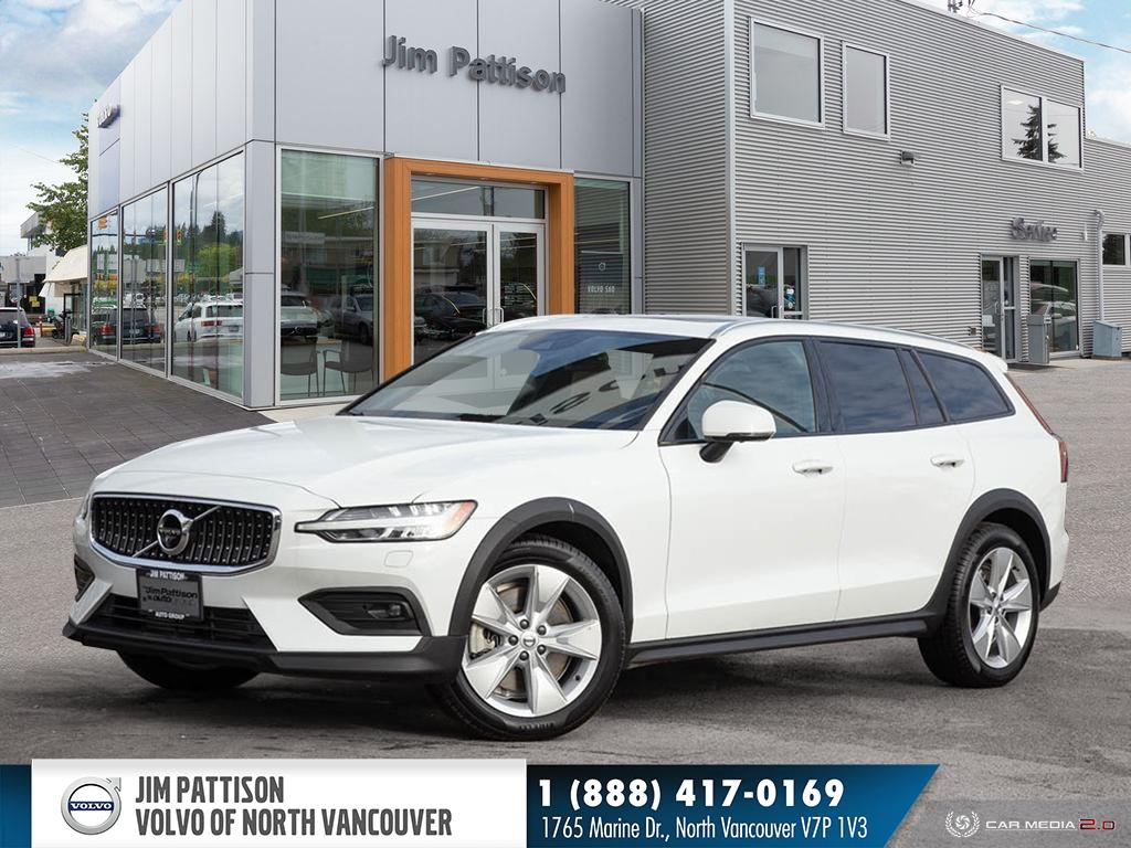 Certified Pre-Owned 2019 Volvo V60 Cross Country T5 AWD - EXECUTIVE DEMO - HUGE SAVINGS - 0.9% OAC