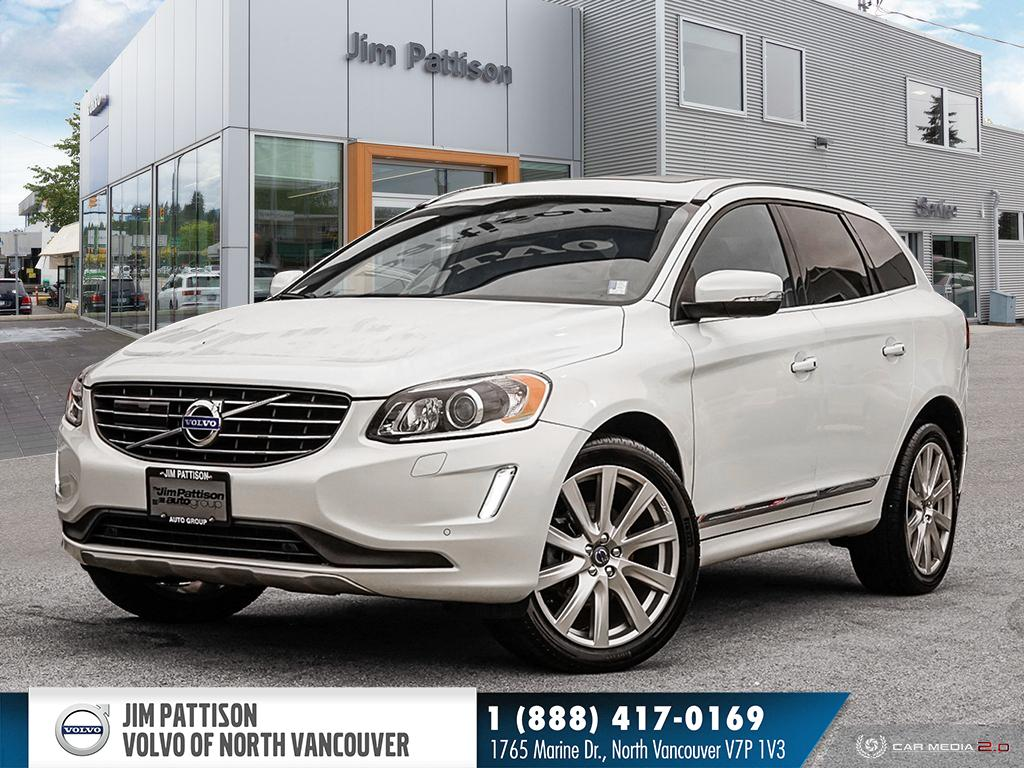 Pre-Owned 2016 Volvo XC60 T6 AWD Premier - LOCAL - ONE OWNER - WELL EQUIPPED