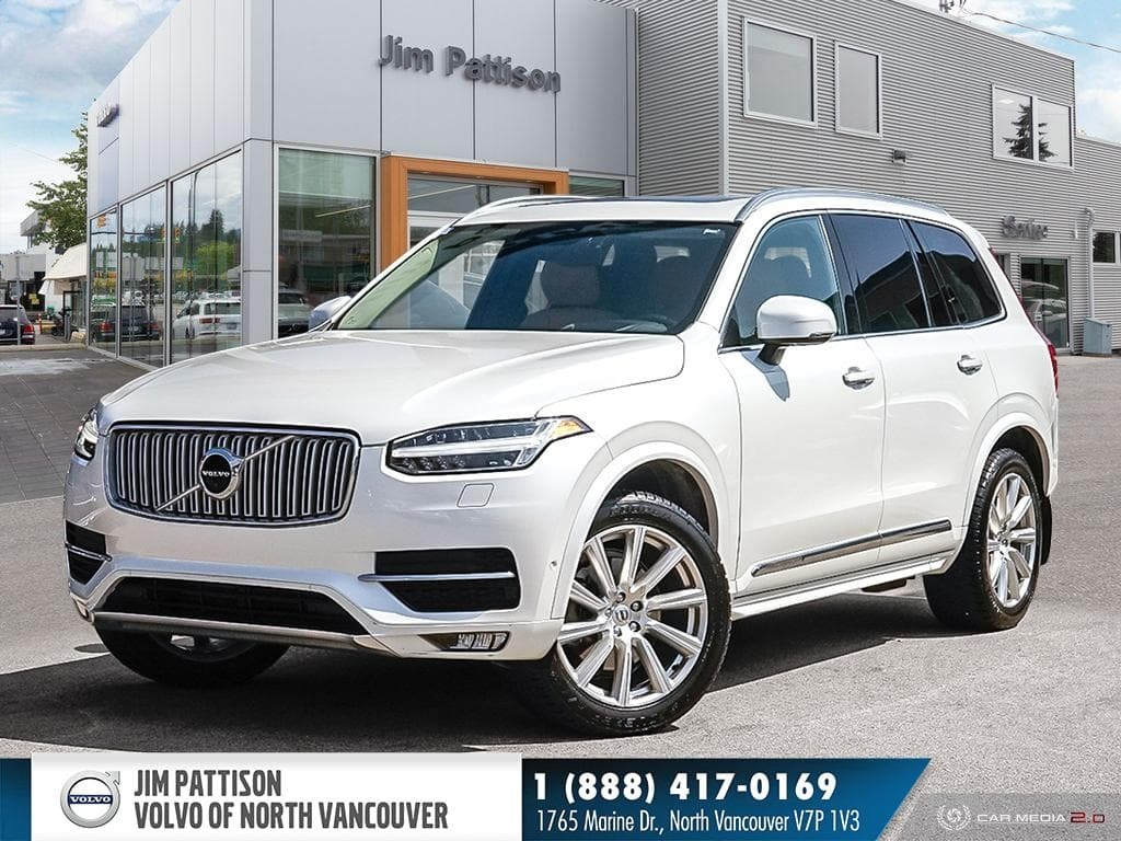 Pre-Owned 2016 Volvo XC90 T6 AWD Inscription