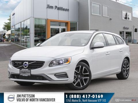 New 2018 Volvo V60 T6 AWD Dynamic