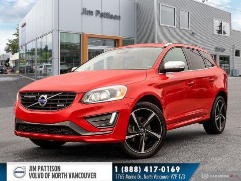 Pre-Owned 2015 Volvo XC60 T6 R-Design Platinum (2015.5)