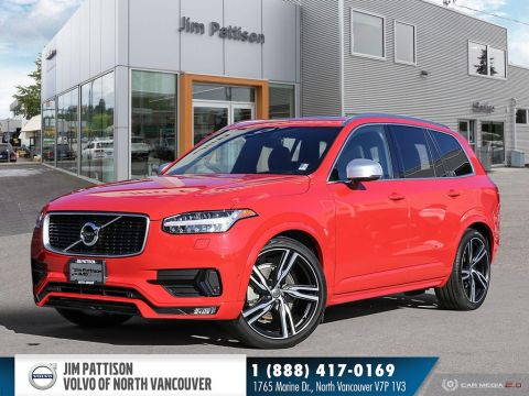 Pre-Owned 2018 Volvo XC90 T6 AWD R-Design